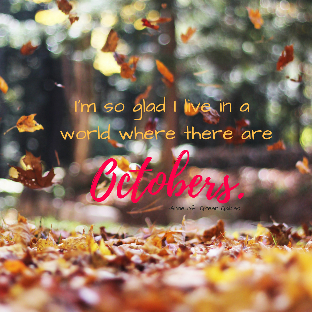 Oh, October quote